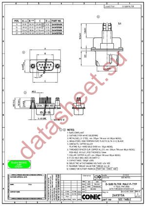 241A19080X datasheet скачать даташит