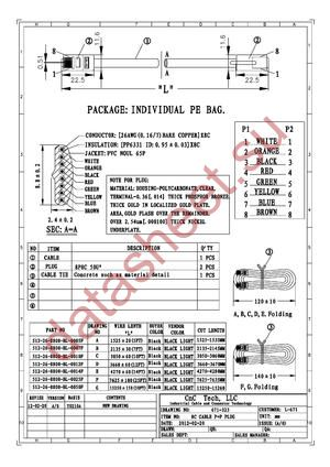 512-26-8800-BL-0014F datasheet скачать даташит