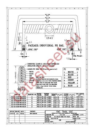 522-26-6600-WH-0014F datasheet скачать даташит