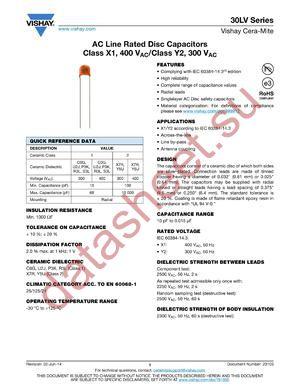 30LVD28-322V-R datasheet скачать даташит