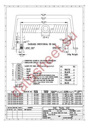 520-26-6600-SV-0014F datasheet скачать даташит