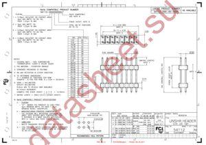 54112-107401300LF datasheet скачать даташит