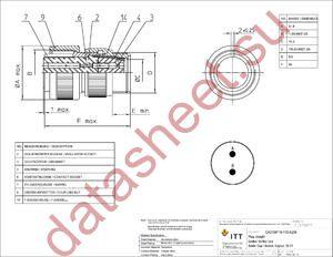 CA3106F16-11SA206 datasheet скачать даташит