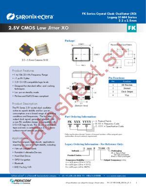 FK4000041 datasheet скачать даташит