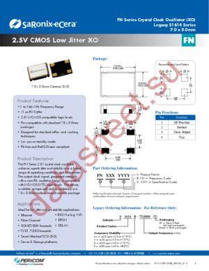 FN7770023 datasheet скачать даташит