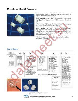 102S42E470JV4E datasheet скачать даташит