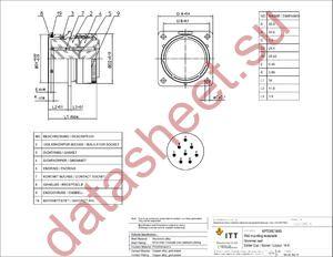KPT00E16-8S datasheet скачать даташит