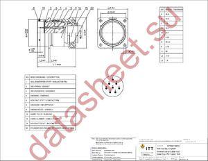 KPT00F16-8PZ datasheet скачать даташит