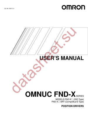 R88A-CAU020B datasheet скачать даташит