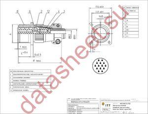MS3100F20-27SZ datasheet скачать даташит