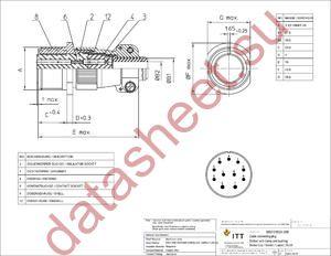MS3101E24-20S datasheet скачать даташит