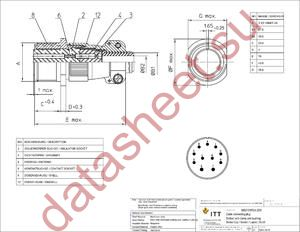 MS3101F24-20S datasheet скачать даташит