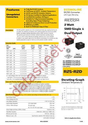 R2S12-2409-R datasheet скачать даташит