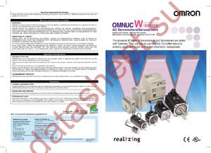 R88A-CAGE040S datasheet скачать даташит
